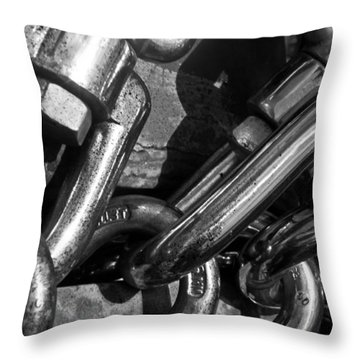 Throw Pillow featuring the photograph Strong by David Pantuso