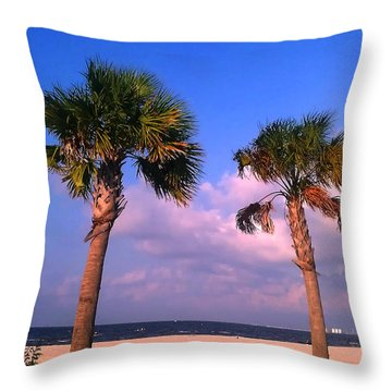 Throw Pillow featuring the photograph Strong Friends Facing It All Together by Brian Wright
