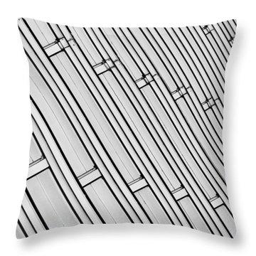 Structural Intrigue Throw Pillow