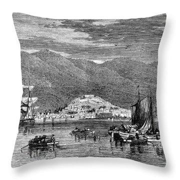 St.thomas, 1868 Throw Pillow by Granger