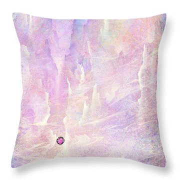 Stuck In A Moment Of Time Throw Pillow by Rachel Christine Nowicki