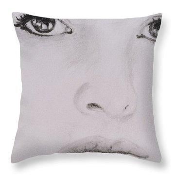 Stunning Throw Pillow by Nik English