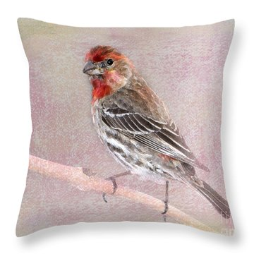 Sublime Throw Pillow by Betty LaRue