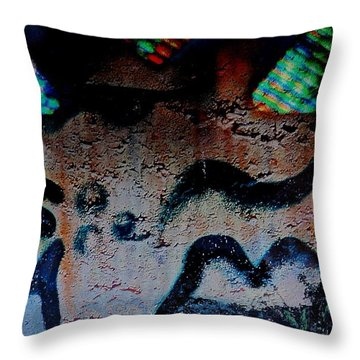 Sublime State Throw Pillow by Contemporary Luxury Fine Art