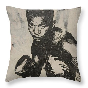 Sugar Ray Throw Pillow by Dustin Spagnola