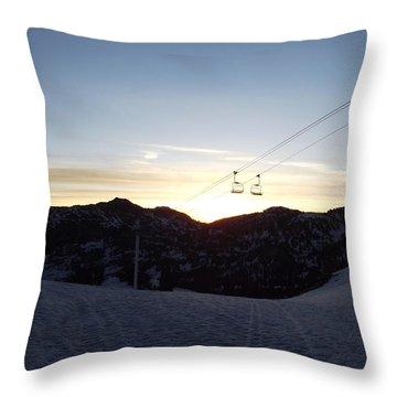 Sugarloaf Sunrise Throw Pillow