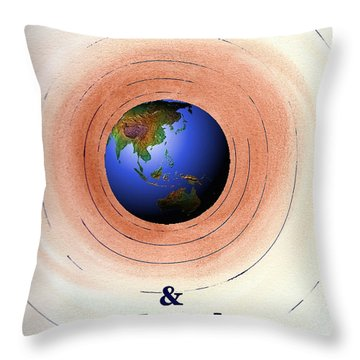 Suicide And Mental Illness Throw Pillow