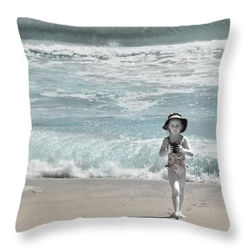 Summer Bliss Throw Pillow by Michelle Wiarda