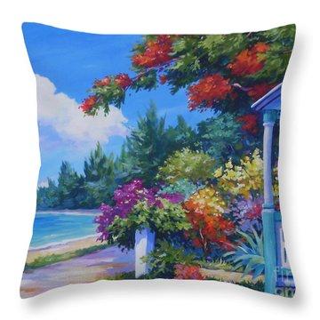 Summer Colours 20x16 Throw Pillow