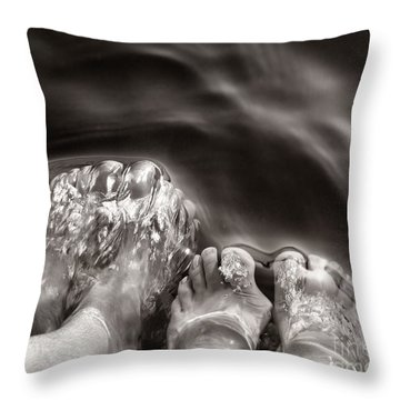 Summer Days Throw Pillow