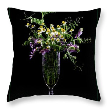 Summer Memories Throw Pillow by Ivelina G