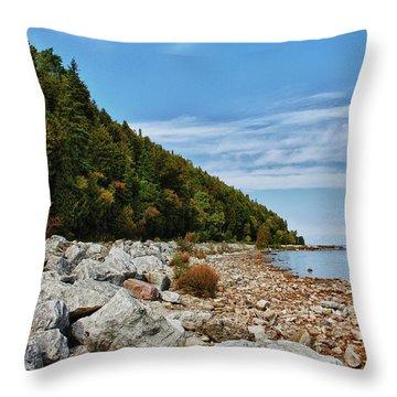 Throw Pillow featuring the photograph Summer Memories by Rachel Cohen