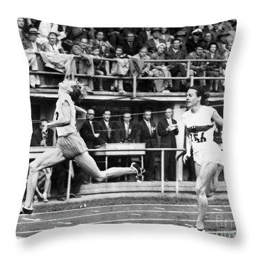 Summer Olympics, 1952 Throw Pillow by Granger