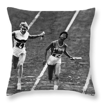 Summer Olympics, 1960 Throw Pillow by Granger
