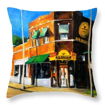 Sun Studio - Day Throw Pillow