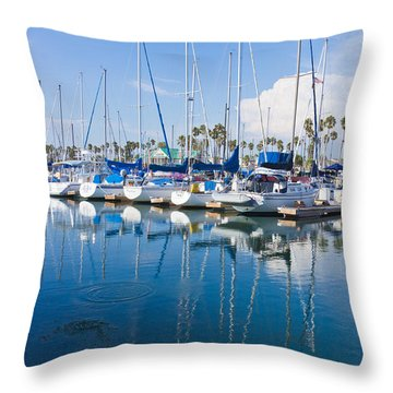 Sunday Afternoon Throw Pillow by Heidi Smith