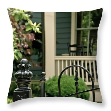 Sunday Afternoon In Doylestown Throw Pillow