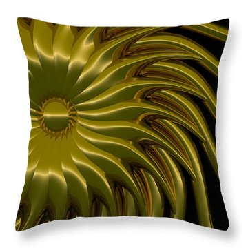 Sunflower Throw Pillow by Richard Rizzo