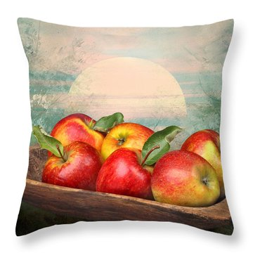 Sunlight Throw Pillow by Manfred Lutzius