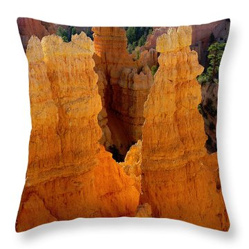 Sunrise At Bryce  Throw Pillow