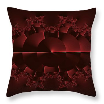Sunrise At Red Lake - Otherworld Throw Pillow by Mother Nature