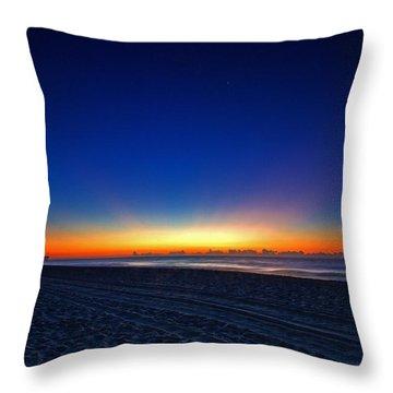 Sunrise At The Beach IIi Throw Pillow