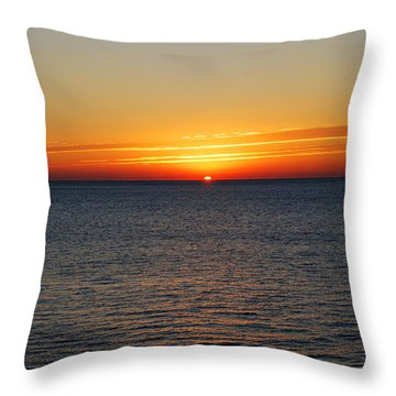 Sunrise Dawning A New Day Throw Pillow