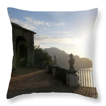 Throw Pillow featuring the photograph Sunrise In Ravello by Tanya  Searcy