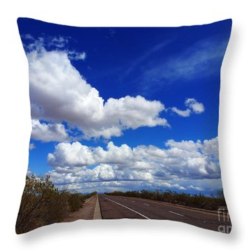 Sunrise Parkway Throw Pillow by Methune Hively