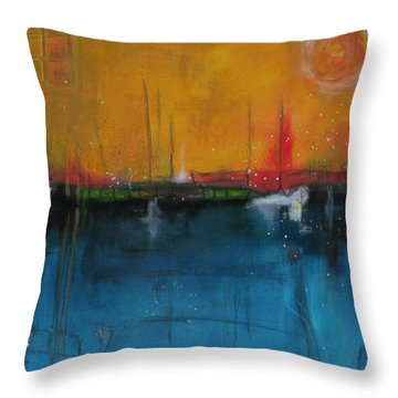 Sunset At The Lake  # 1 Throw Pillow