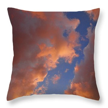 Sunset Cloudscape 1035 Throw Pillow by James BO  Insogna