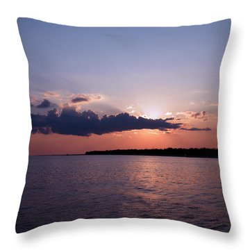 Throw Pillow featuring the photograph Sunset In The Pass by Brian Wright