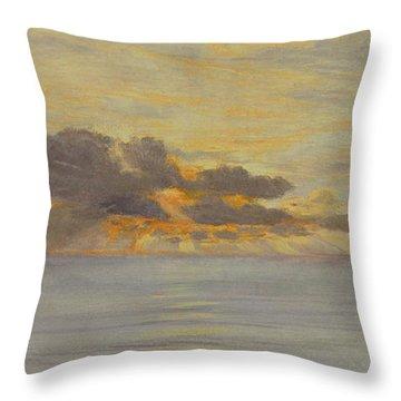 Sunset Throw Pillow by John Brett