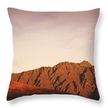 Sunset Mountain 2 Throw Pillow