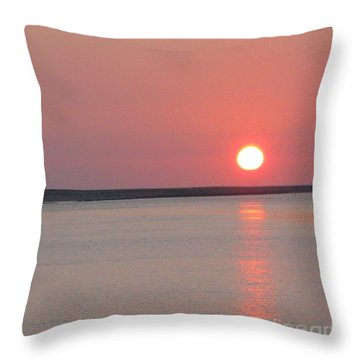 Throw Pillow featuring the photograph Sunset On The Douro by Arlene Carmel