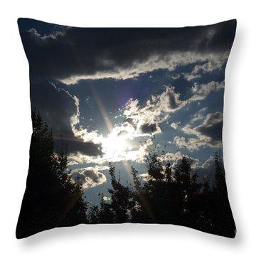 Sunshine Always Returns Throw Pillow