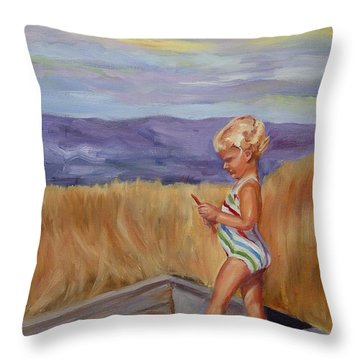 Sunshine And Shadows Throw Pillow
