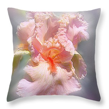 Throw Pillow featuring the digital art Sunshine Bliss by Mary Almond