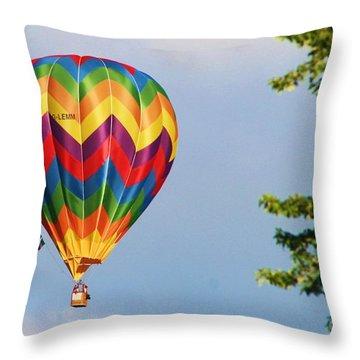 Sunshine On Balloon Throw Pillow