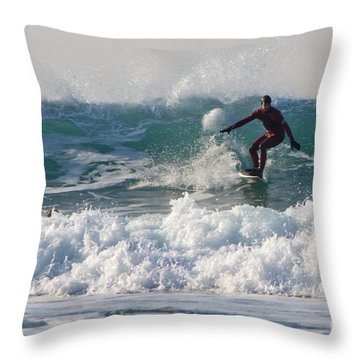 Surfers Paridise Throw Pillow by Brian Roscorla