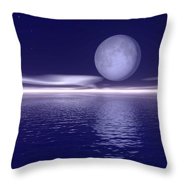 Surreal Landscape Throw Pillow by Paul Sale Vern Hoffman