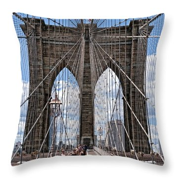 Suspended Animation Throw Pillow