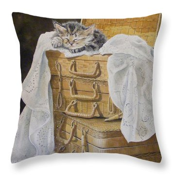 Sweet Dreams Sold  Throw Pillow