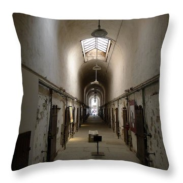 Throw Pillow featuring the photograph Sweet Home Penitentiary II by Richard Reeve
