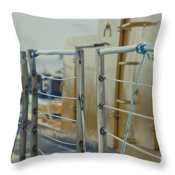 Sweet Sub Throw Pillow by Sharon Mau