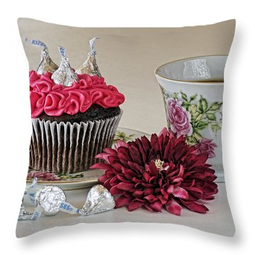 Sweet Treats Throw Pillow by Kenny Francis