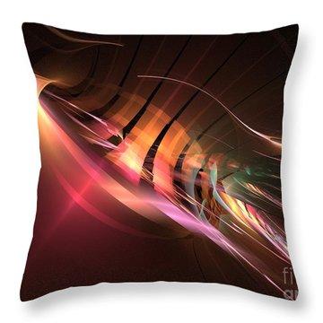 Swordfish Throw Pillow by Kim Sy Ok
