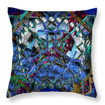 Symagery 32 Throw Pillow