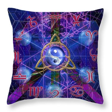 Symagery 35 Throw Pillow
