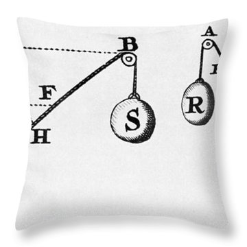 Symbol Language Of Statics Throw Pillow by Science Source
